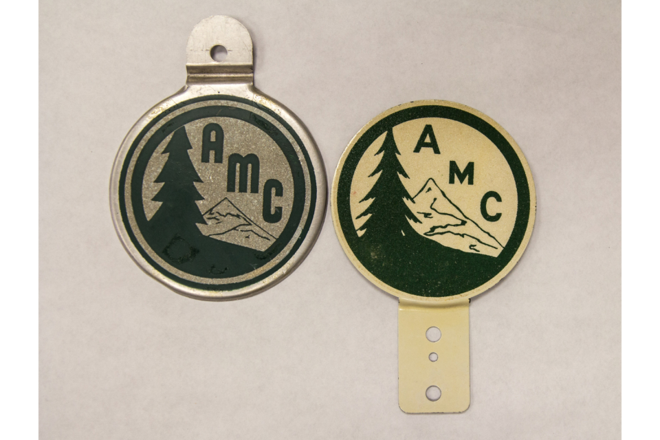 A Car-centric History of AMC Membership Swag
